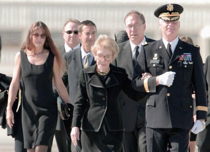 Nancy Reagan Feuds 14