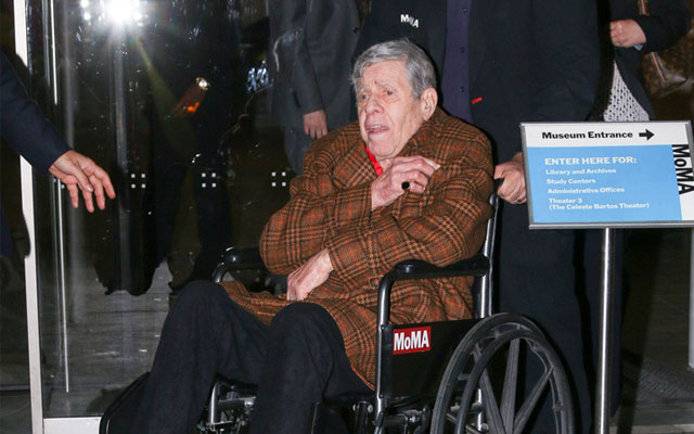 Frail jerry lewis fights at 90 to push final films national enquirer
