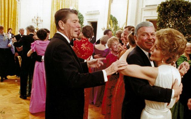 Nancy Reagan Frank Sinatra Affair F