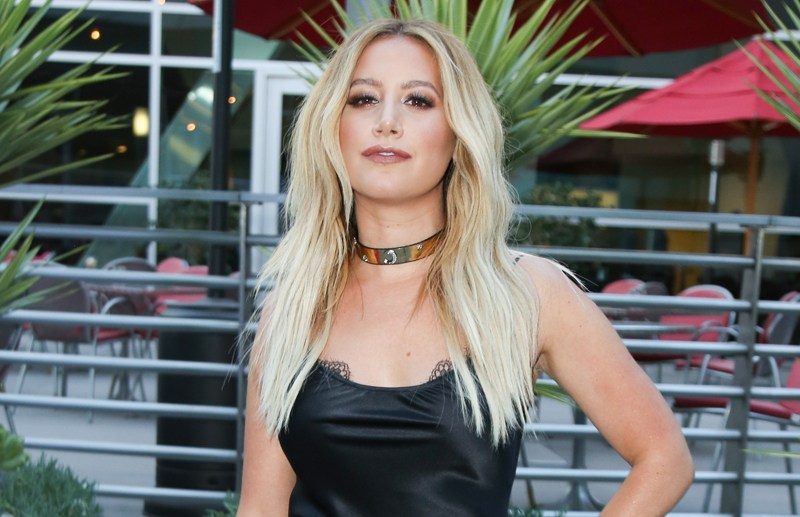 Ashley Tisdale attends the premiere of Cinedigm's 'Amateur Night' at ArcLight Hollywood in Hollywood, California.   Pictured: Ashley Tisdale Ref: SPL1324465  250716   Picture by: London Entertainment/Splash News  Splash News and Pictures Los Angeles:	310-821-2666 New York:	212-619-2666 London:	870-934-2666 photodesk@splashnews.com