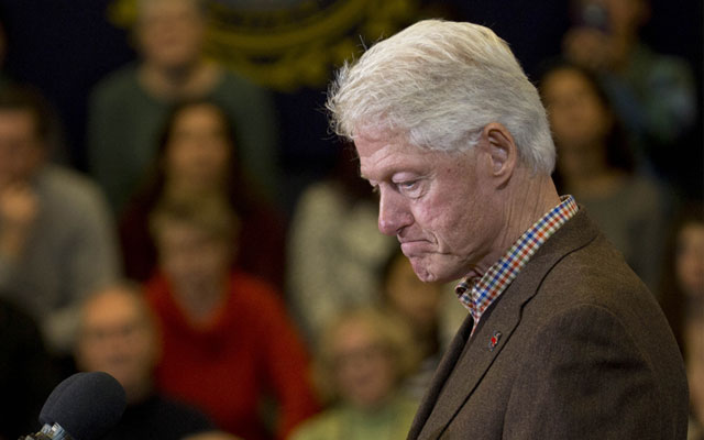 bill clinton brain  damage rape charges F