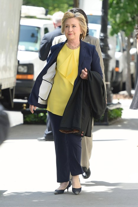 Celebrity Sightings in New York City – May 12, 2016