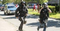 german cinema shooting gunman