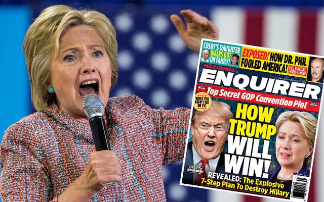 hillary clinton donald trump campaign dirty tricks