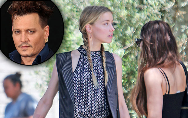 johnny depp amber heard lesbian affairs divorce