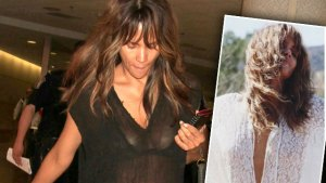 halle berry hottest photos lingerie see through