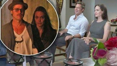 brad pitt angelina jolie divorce interview video FF