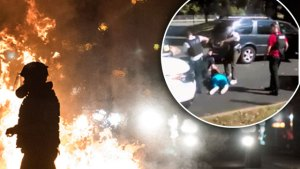 north carolina police shooting riots keith l. scott video