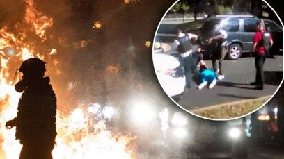 keith scott shooting video charlotte riots F