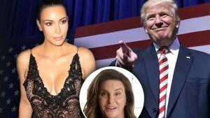 kim kardashian donald trump endorsement caitlyn jenner