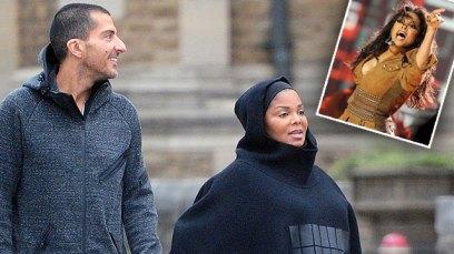 janet jackson pregnant muslim islam husband hijab