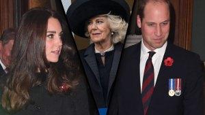 kate middleton camilla royal family gossip
