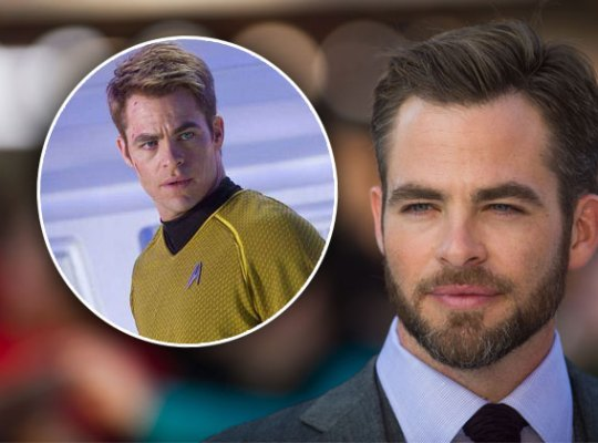 chris pine star trek captain kirk gossip