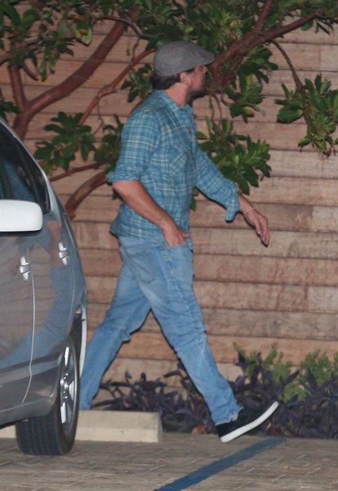 Leonardo DiCaprio and The Revenant cast dine at Nobu in Malibu