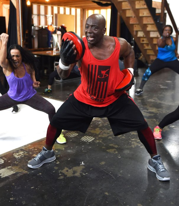 Billy Blanks Shooting New Workout Videos For His Website