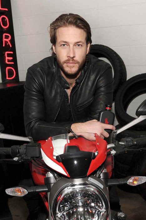Luke Bracey celebrates the launch of POLO RED EXTREME