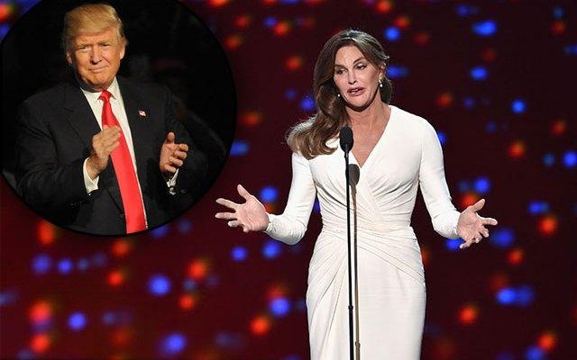 caitlyn jenner donald trump inauguration
