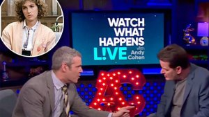 charlie sheen feuds costars andy cohen