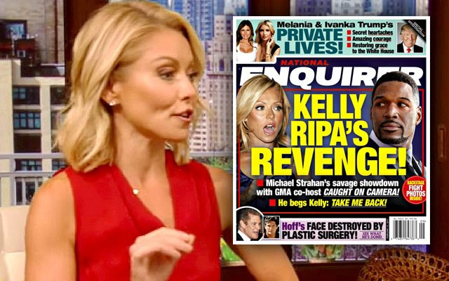 kelly ripa michael strahan feud gma scandals