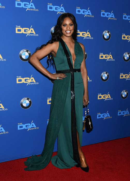 Celebrities arrive at the 69th Annual DGA Awards in Beverly Hills