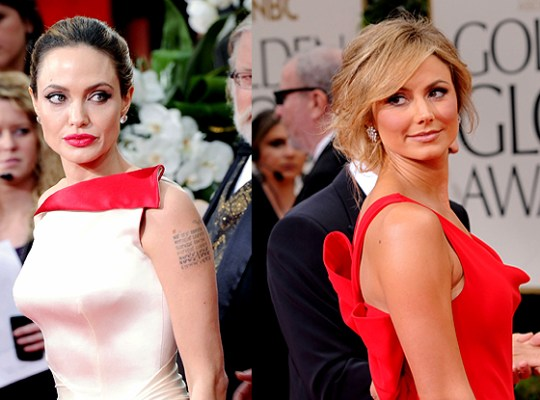 Angelina Jolie, Stacy Keibler