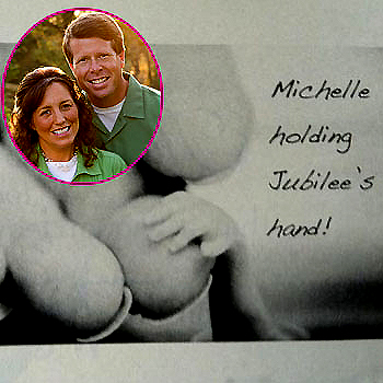 The Duggars Share Photos Of Baby Jubilee At Memorial ...
