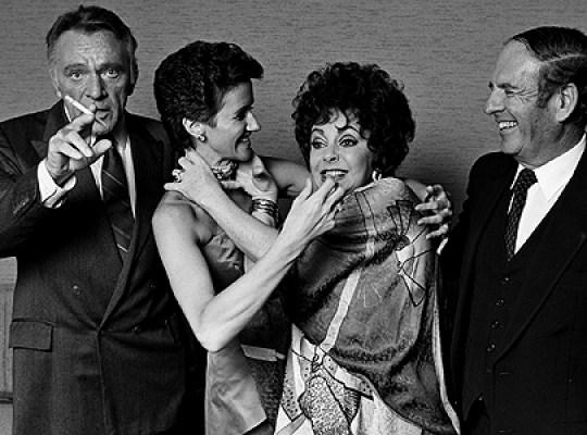 Richard Burton, Sally hay Burton, Liz Taylor