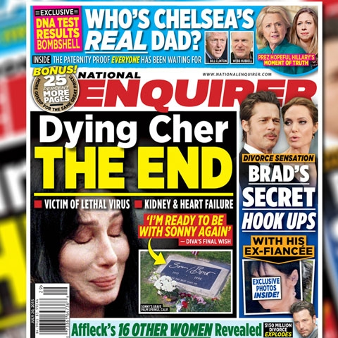 The national enquirer celebrity news