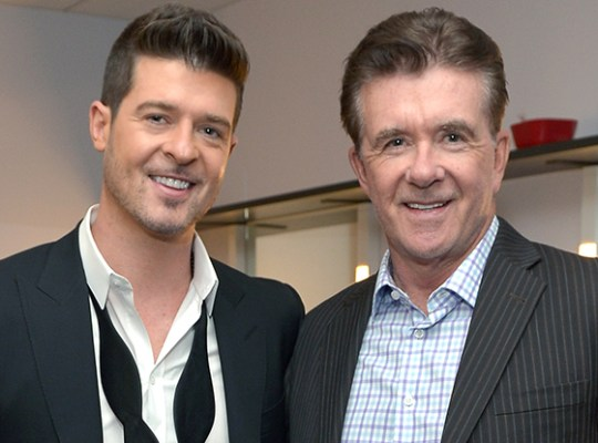 Robin & Alan Thicke