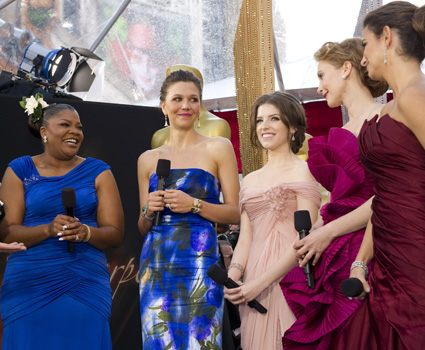 Nominees Mo'Nique, Maggie Gyllenhaal, Anna Kendrick, Vera Farmiga and Penelope Cruz