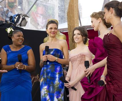 Nominees Mo'Nique, Maggie Gyllenhaal, Anna Kendrick, Vera Farmiga and Penelope Cruz