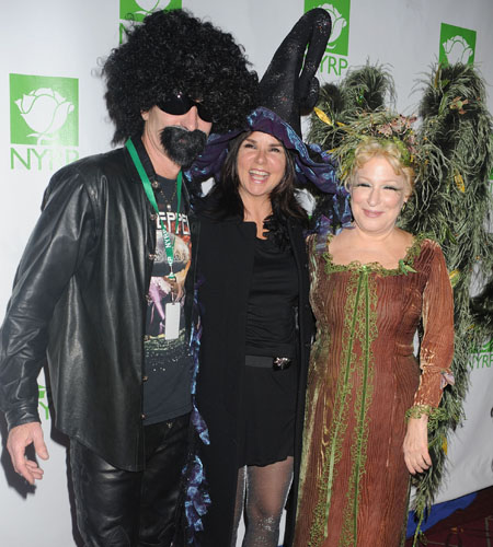 John McEnroe, Patty Smyth and Bette Midler
