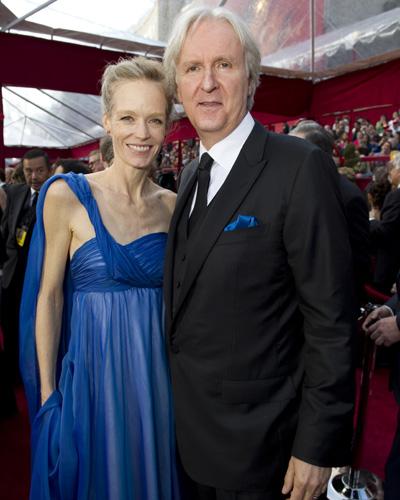 <i>Avatar</i> director James Cameron and his wife Suzy Amis