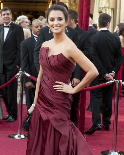 Nominee Penelope Cruz