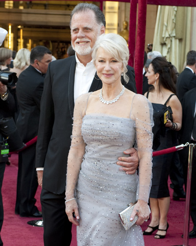 Nominee Helen Mirren with Taylor Hackford