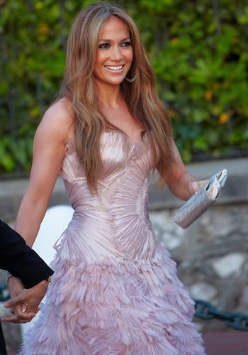 Jennifer Lopez at amfAR's Cinema Against AIDS Gala