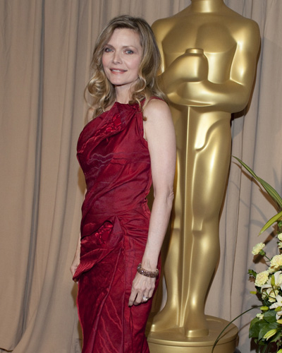 Presenter Michelle Pfeiffer