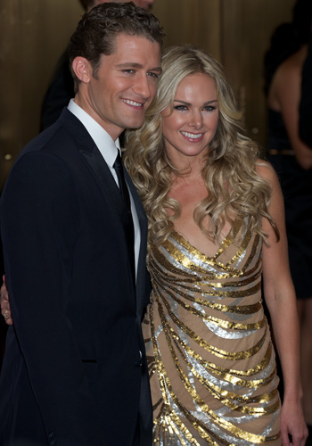 Matthew Morrison and Laura Bell Bundy