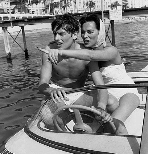 ALAIN DELON & BELLA DARVI 1958