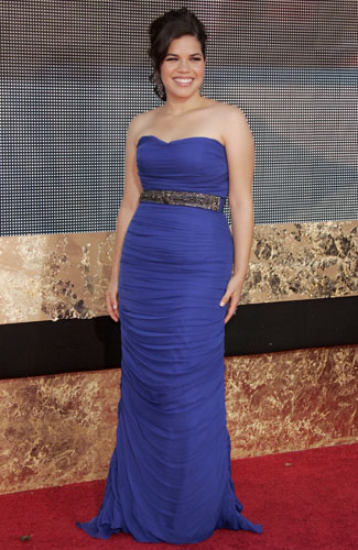 America Ferrera at the 59th annual Primetime Emmy Awards.