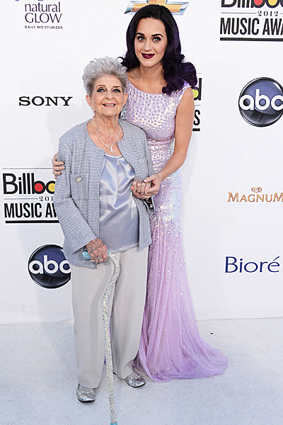 KATY PERRY & HER GRANDMOTHER