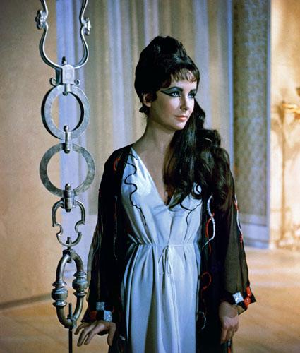 Elizabeth Taylor in 1963's Cleopatra.