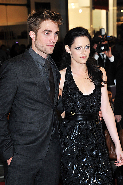 ROBERT PATTINSON & KRISTIN STEWART