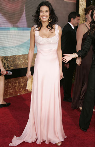 Teri Hatcher at the 59th annual Primetime Emmy Awards.