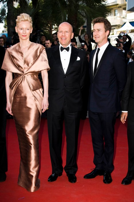 Tilda Swinton, Bruce Willis & Edward Norton