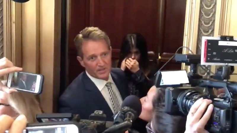 Who Was behind the Flake Set-Up?
