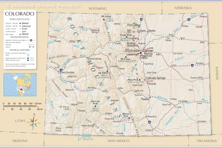 reference map of colorado, usa nations online project