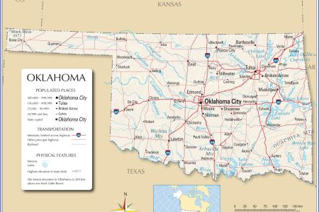 reference map of oklahoma, usa nations online project