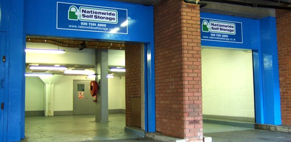 Nationwide Storage Loading bay