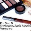 Kat Von D Everlasting Liquid Lipstick in Vampira